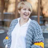 Кардиганы Марины Бокаревой. Фотограф Илья Моисеев